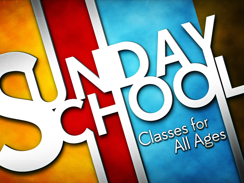 Back to (Sunday) School!